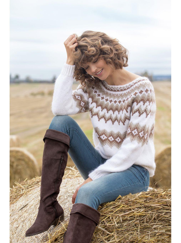 Andrea Genser, kjøp den som strikkepakke hos HoY.no Hoy.no