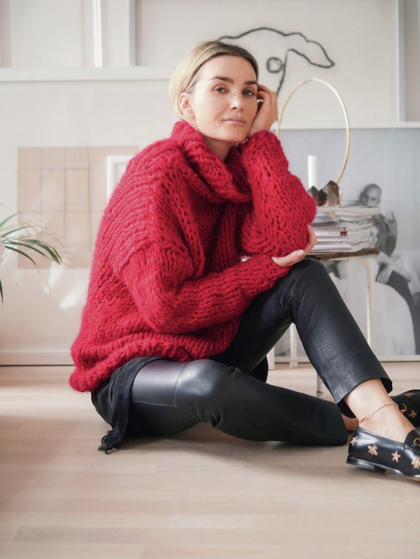 Kjøp strikkepakke Anne genser fra Camilla Pihl hos HoY.no