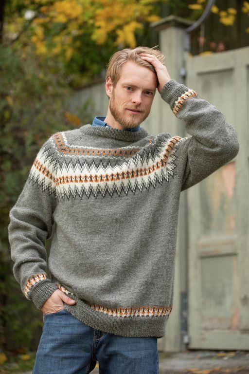 Silja Rundbringegenser, kjøp den som strikkepakke hos HoY.no