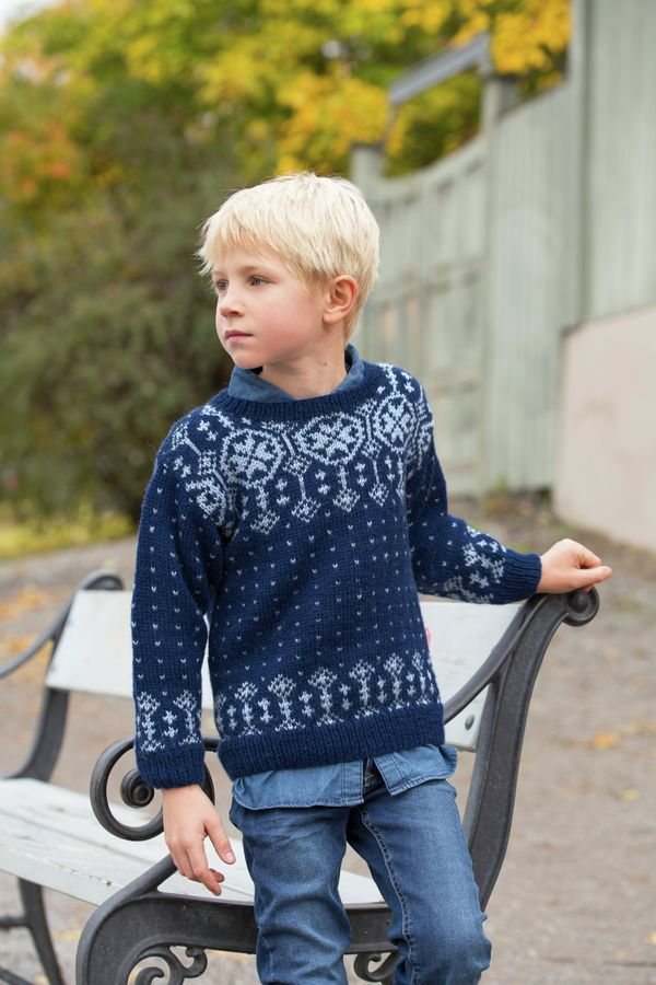 GG266 08 Løvli genser | Gjestal