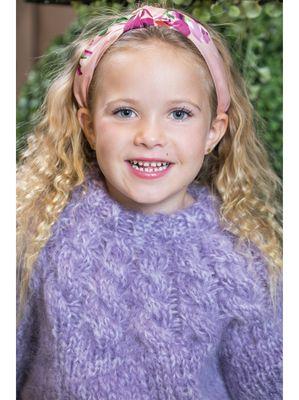 Jackie Kids Genser, Lavendel