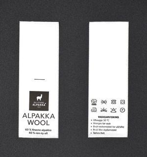 Vaskelapp til Alpakka Wool